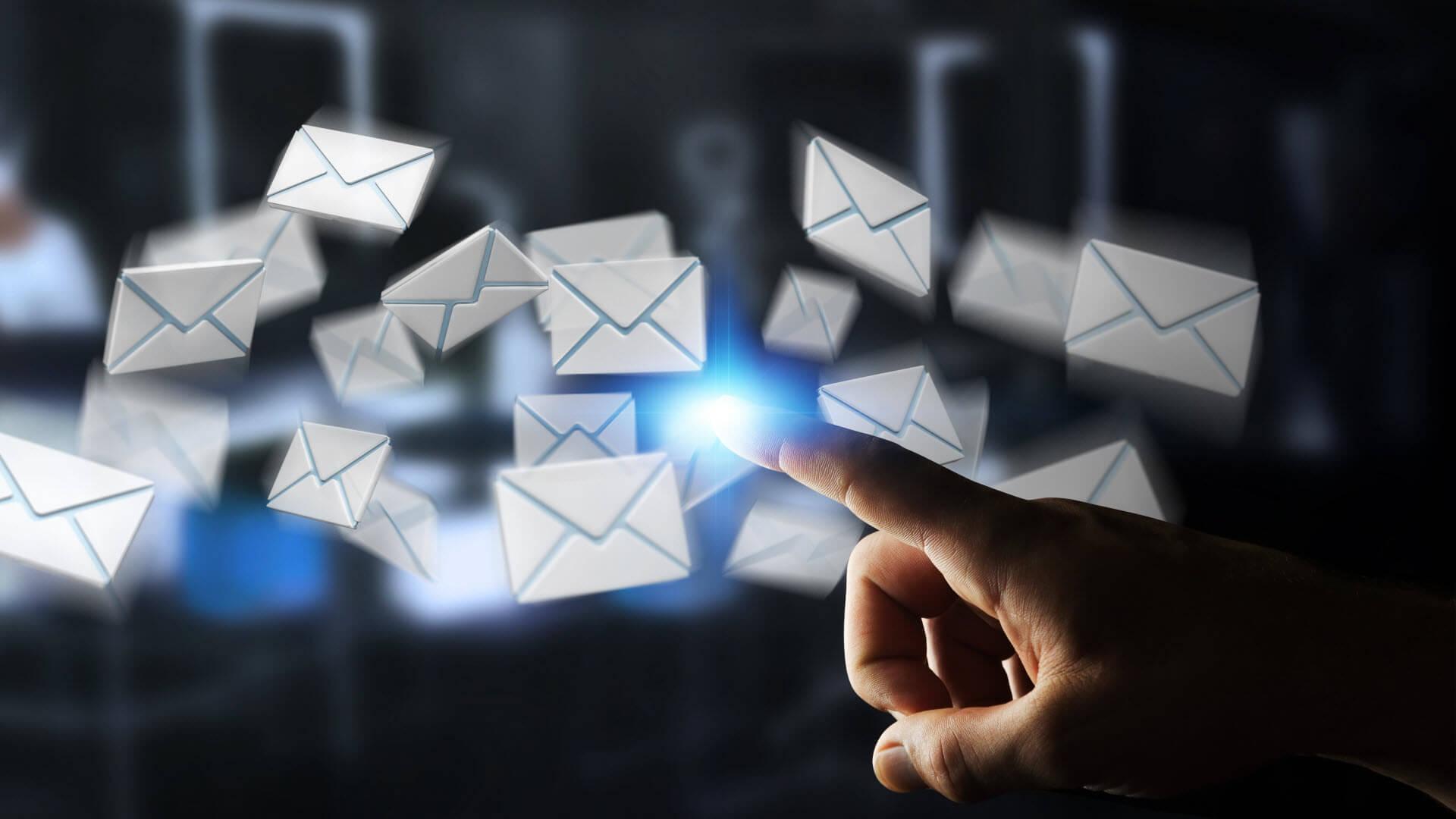 concertación visitas comerciales por e-mail